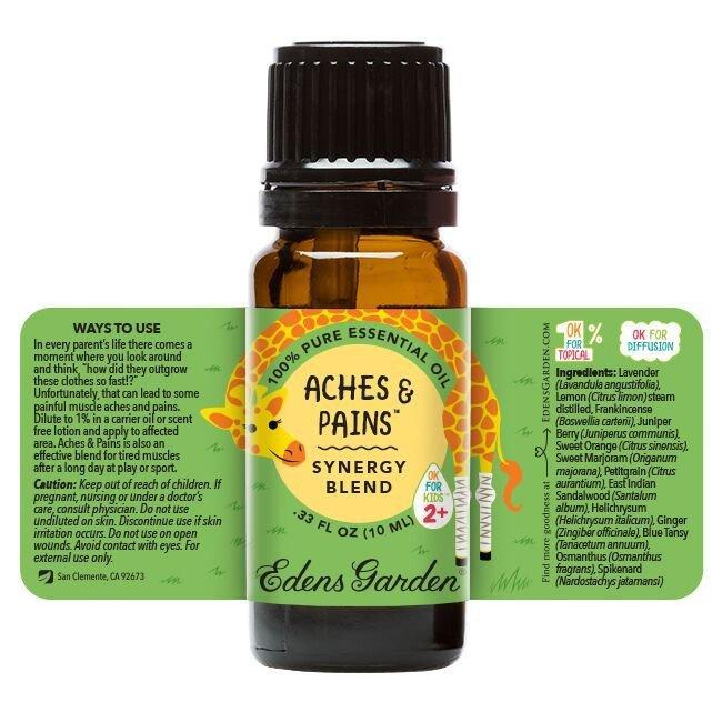 Aches & Pains Essential Oil 10ml | Plant Therapy Malaysia, Plant Therapy essential oil, Plant Plant Therapy oil online