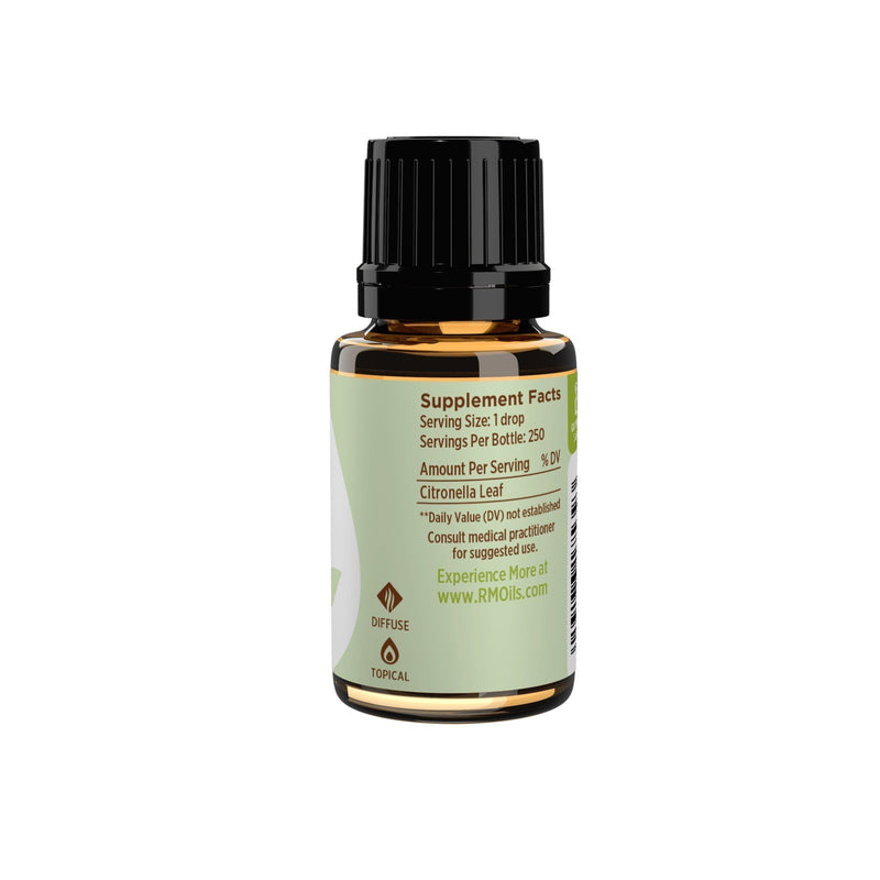 Citronella Essential Oil 15ml - OilyPod