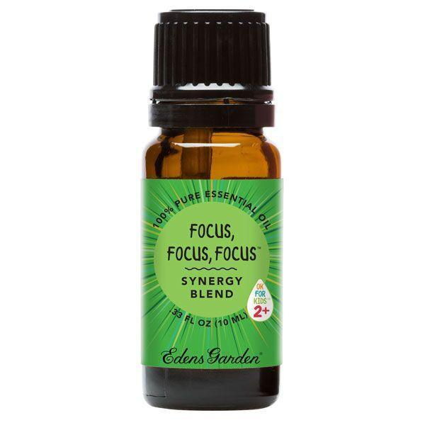 Focus, Focus, Focus Essential Oil 10ml - OilyPod