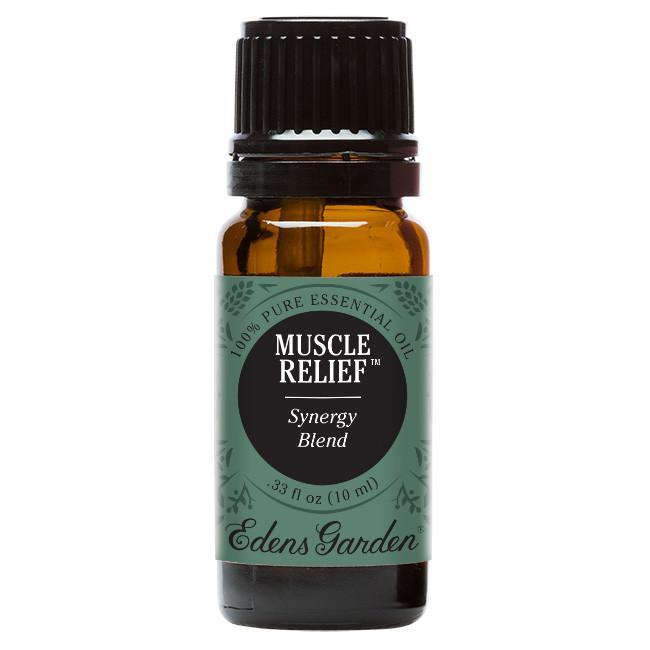 Muscle Relief Essential Oil 10ml - OilyPod