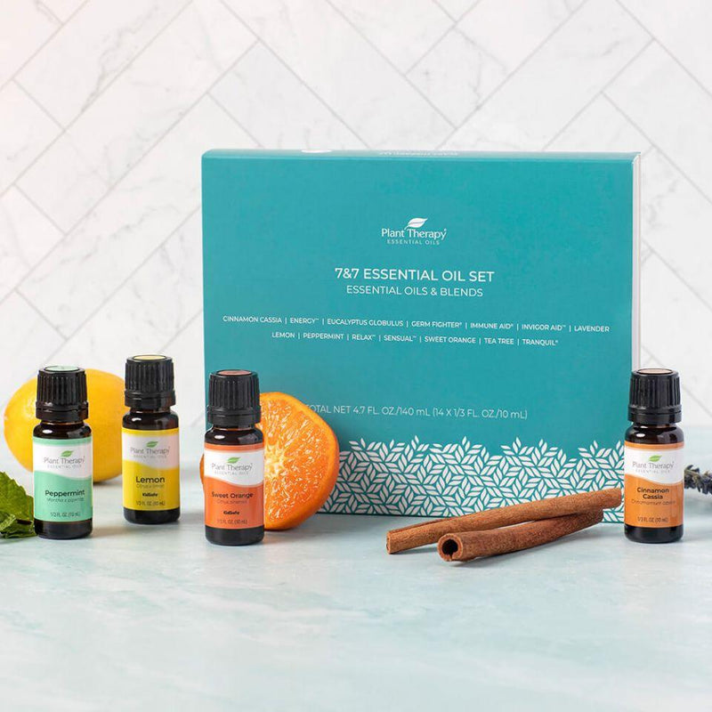 Plant Therapy 7 & 7 Essential Oil Set - OilyPod