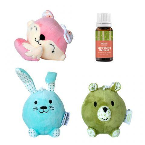 Plant Therapy Aroma Plush Pal Clips 3-Pack - OilyPod