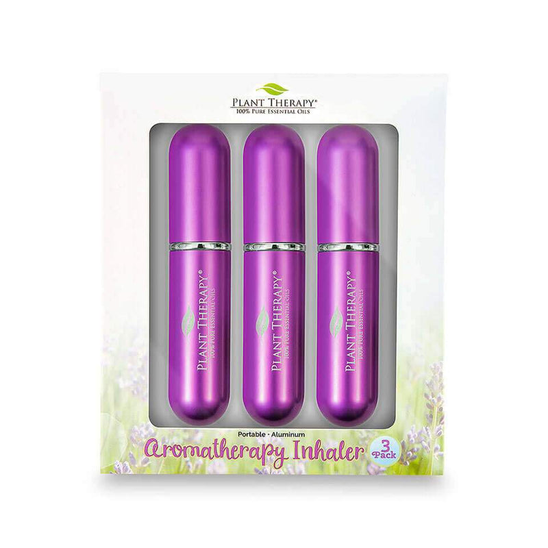 Plant Therapy Aromatherapy Inhalers 3-Pack - OilyPod