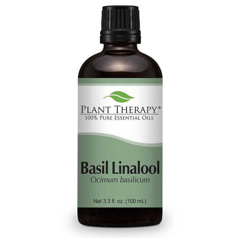 Plant Therapy Basil Linalool Essential Oil - OilyPod