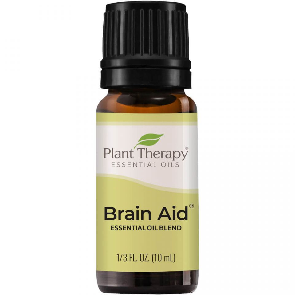 Plant Therapy Brain Aid Synergy Blend Essential Oil - OilyPod