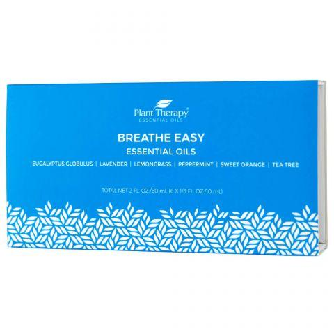 Plant Therapy Breathe Easy Set - OilyPod