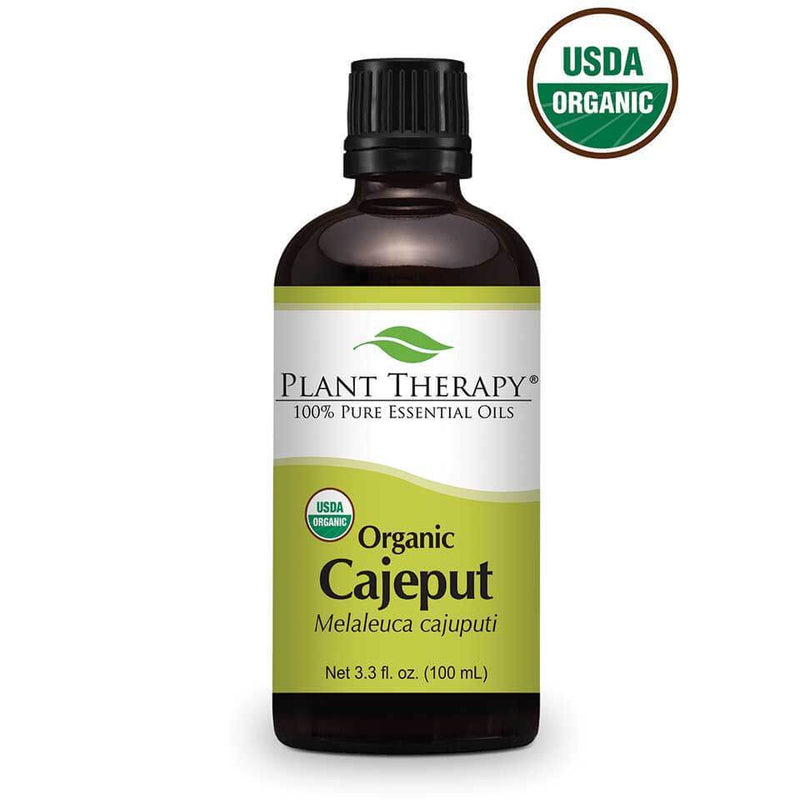 Plant Therapy Cajeput Organic Essential Oil - OilyPod