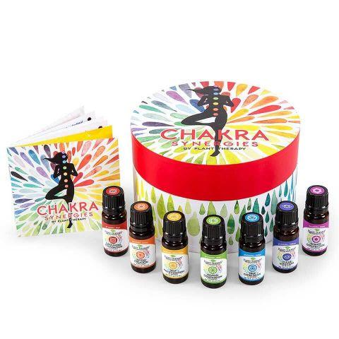 Plant Therapy Chakra Synergies Essential Oil 10 ml Set - OilyPod
