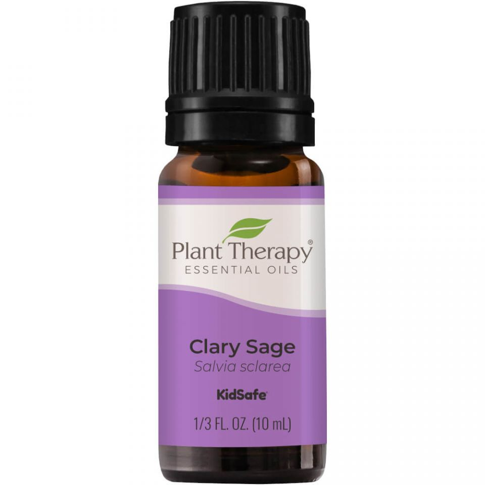 Plant Therapy Clary Sage Essential Oil - OilyPod