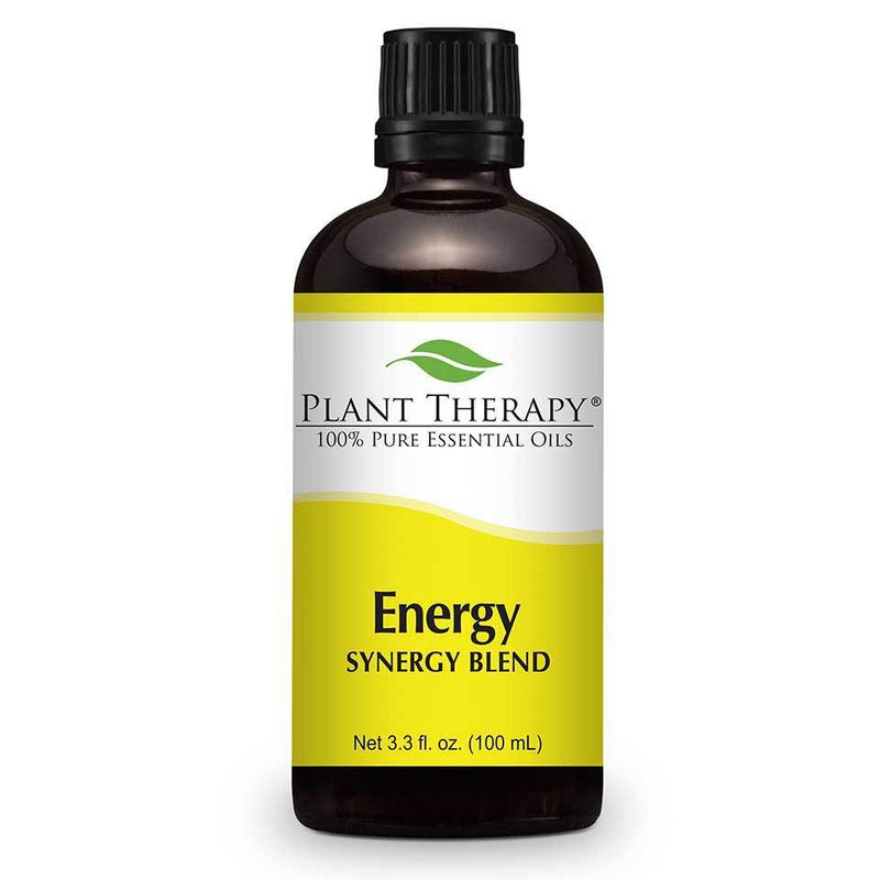 Plant Therapy Energy Synergy Blend Essential Oil - OilyPod