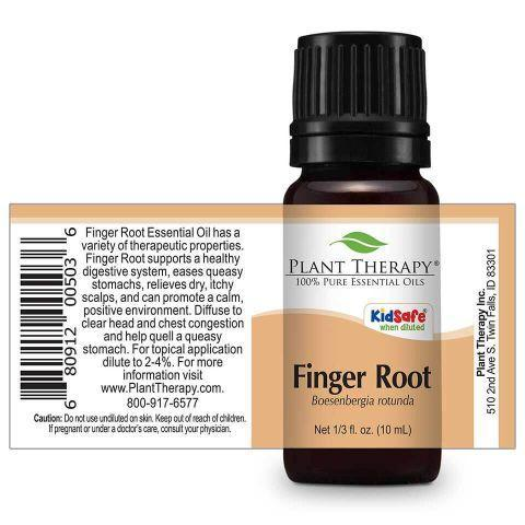 Plant Therapy Finger Root Essential Oil - OilyPod