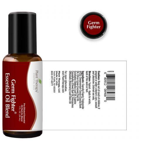 Plant Therapy Germ Fighter Synergy Blend Essential Oil - OilyPod