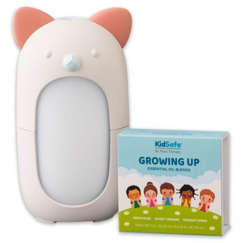 Plant Therapy Growing Up KidSafe with Forest Friends Diffuser - OilyPod