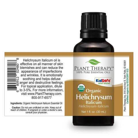 Plant Therapy Helichrysum Italicum Organic Essential Oil - OilyPod