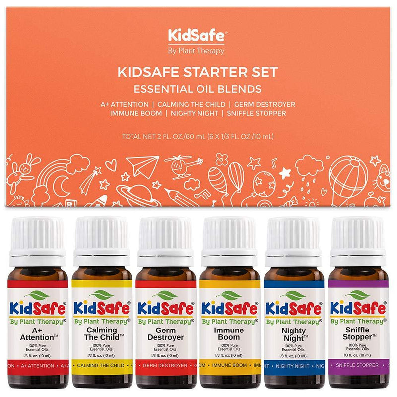 Plant Therapy KidSafe Starter Set with NovaFuse - OilyPod