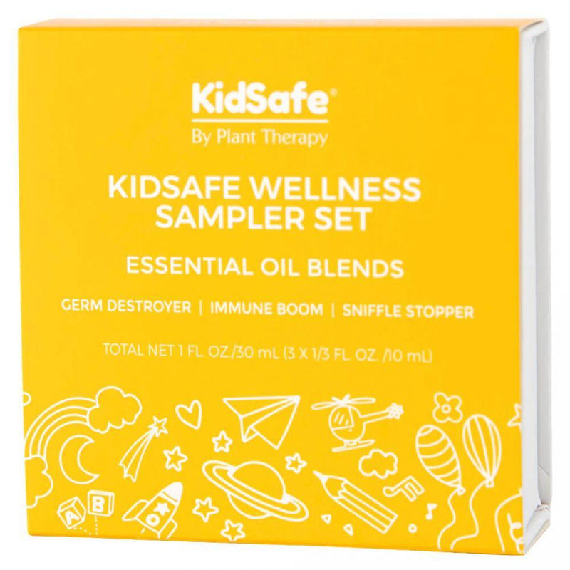 Plant Therapy KidSafe Wellness Sampler Set - OilyPod
