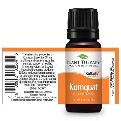 Plant Therapy Kumquat Essential Oil - OilyPod