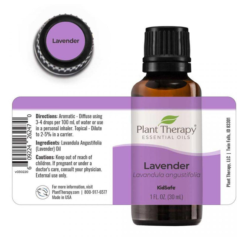 Plant Therapy Lavender Essential Oil - OilyPod