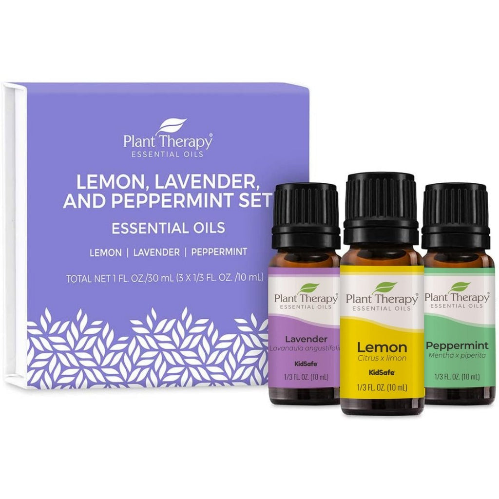Plant Therapy Lemon, Lavender and Peppermint Set - OilyPod