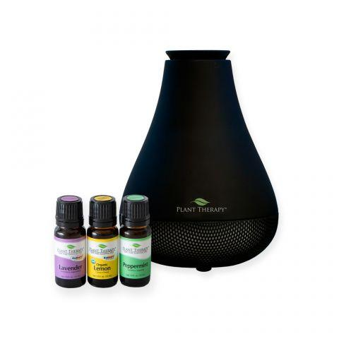 Plant Therapy Lemon, Lavender, Peppermint Set with NovaFuse - OilyPod