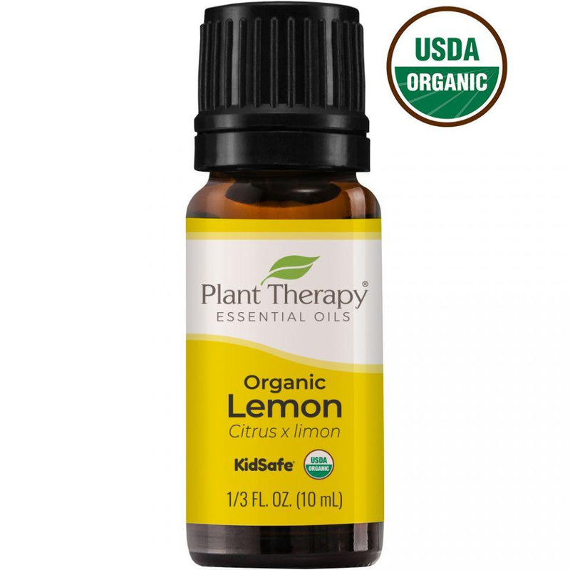 Plant Therapy Lemon Organic Essential Oil - OilyPod