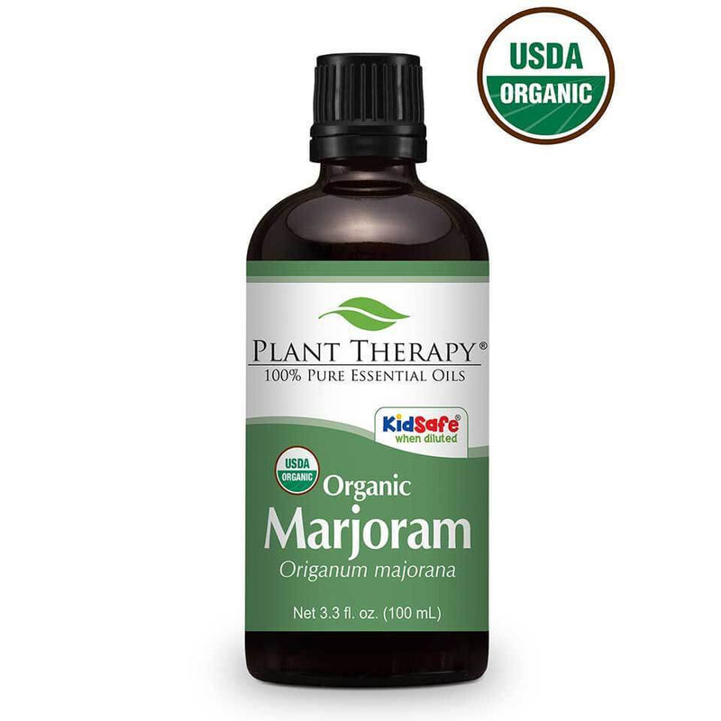 Plant Therapy Marjoram Sweet Organic Essential Oil - OilyPod