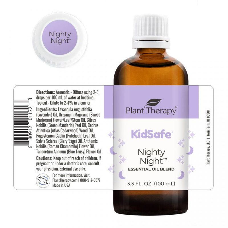 Plant Therapy Nighty Night KidSafe Essential Oil - OilyPod