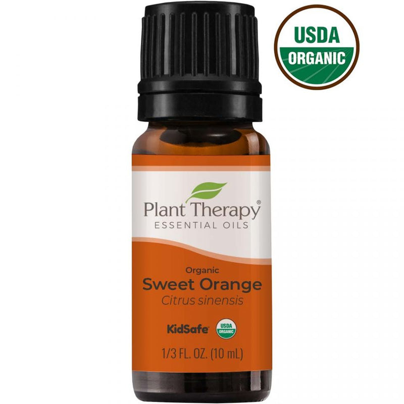 Plant Therapy Orange Sweet Organic Essential Oil - OilyPod