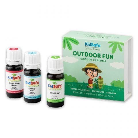 Plant Therapy Outdoor Fun KidSafe with Forest Friends Diffuser - OilyPod