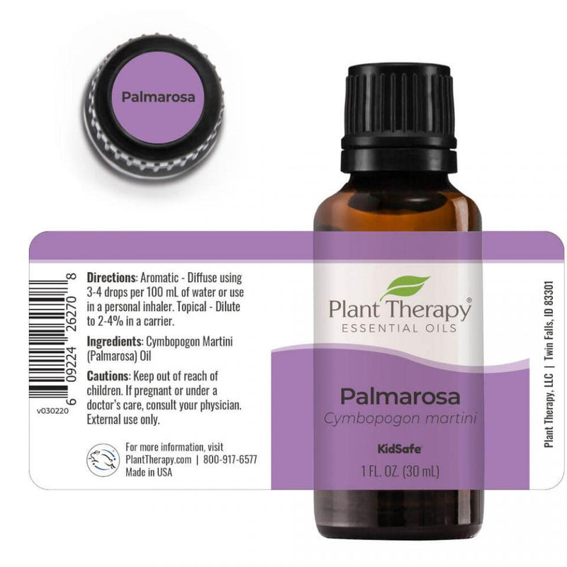 Plant Therapy Palmarosa Essential Oil - OilyPod