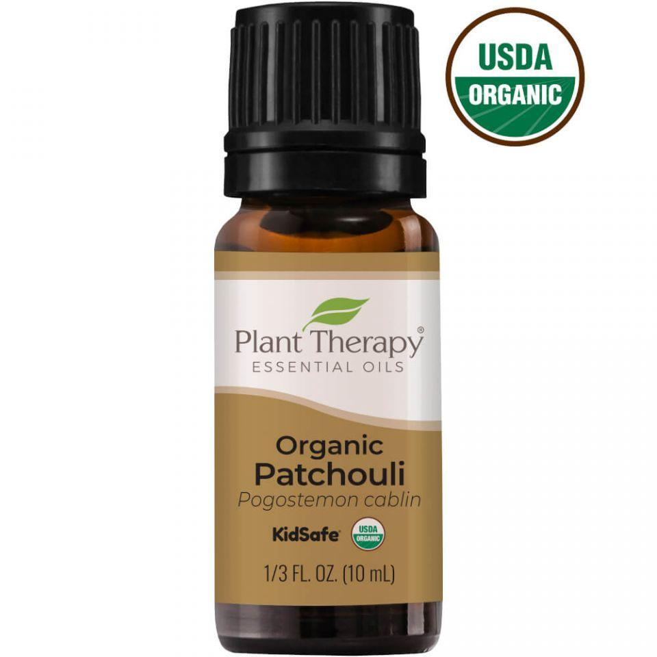 Plant Therapy Patchouli Organic Essential Oil 10ml - OilyPod