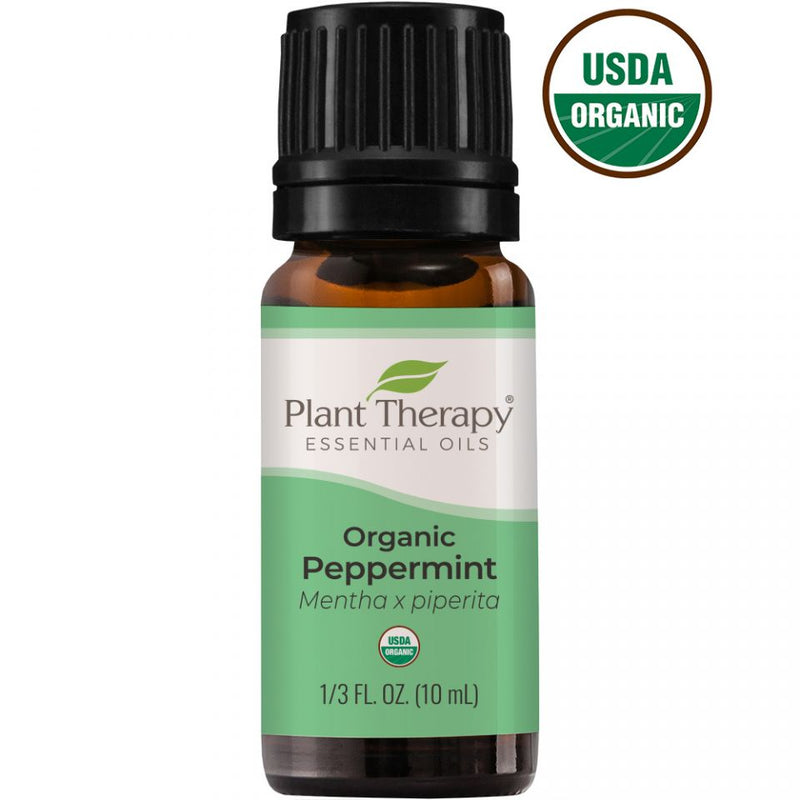 Plant Therapy Peppermint Organic Essential Oil - OilyPod