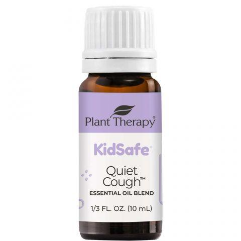 Plant Therapy Quiet Cough™ KidSafe Essential Oil Blend - OilyPod