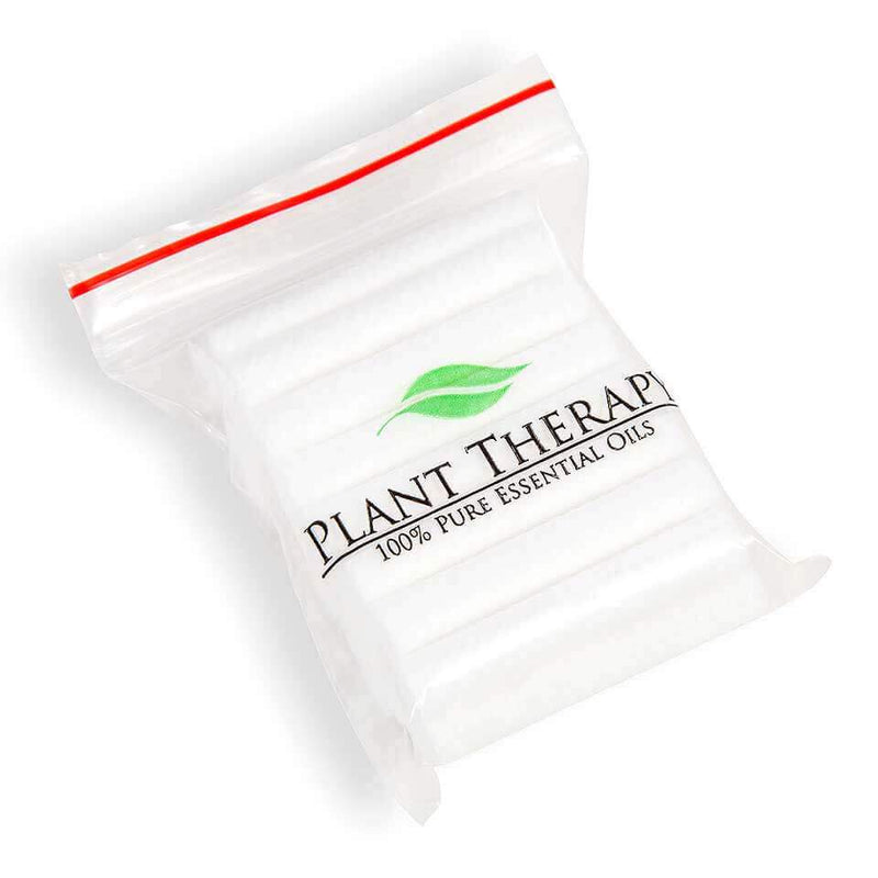 Plant Therapy Refill Wicks for Aromatherapy Inhalers - 24 Pack - OilyPod