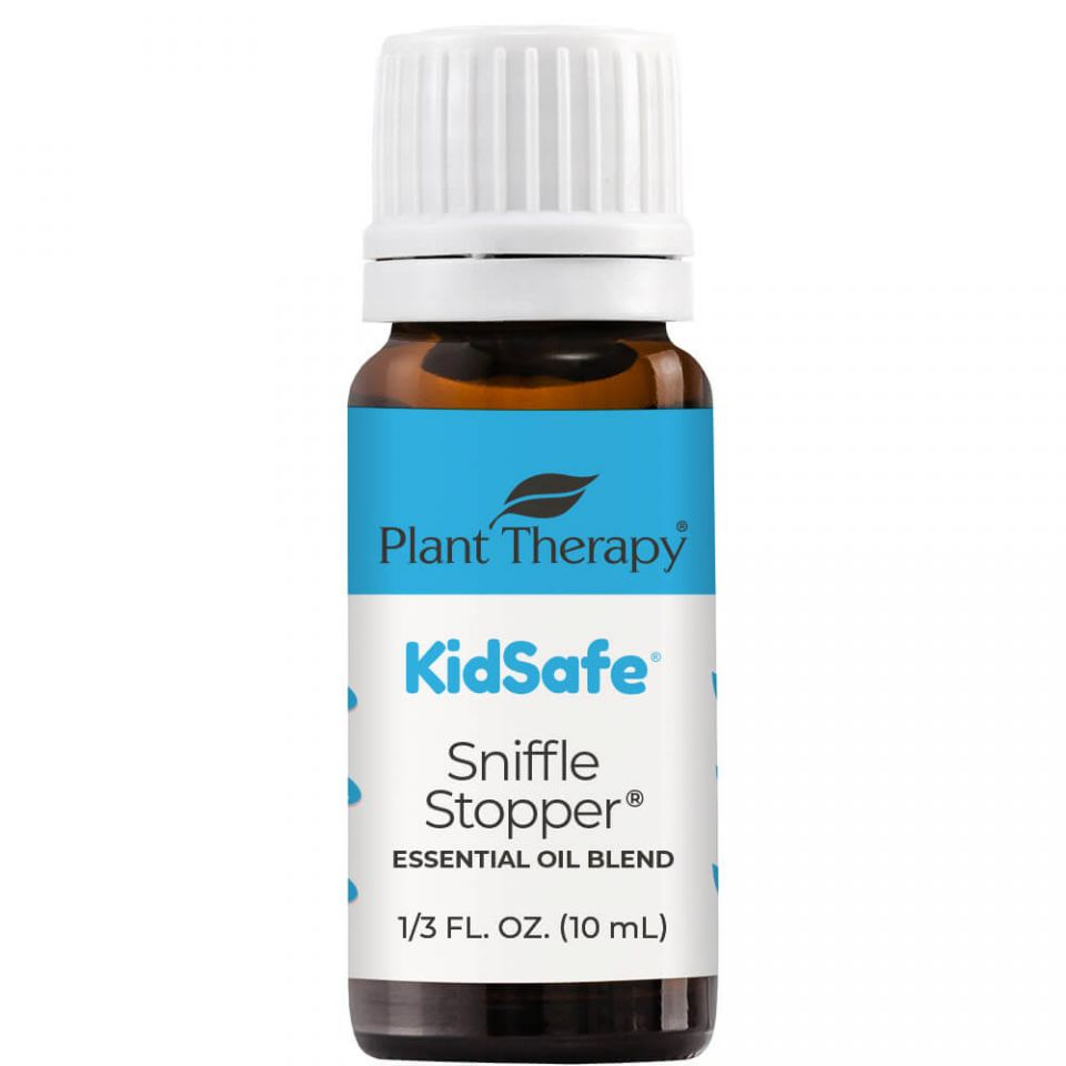Plant Therapy Sniffle Stopper KidSafe Essential Oil - OilyPod