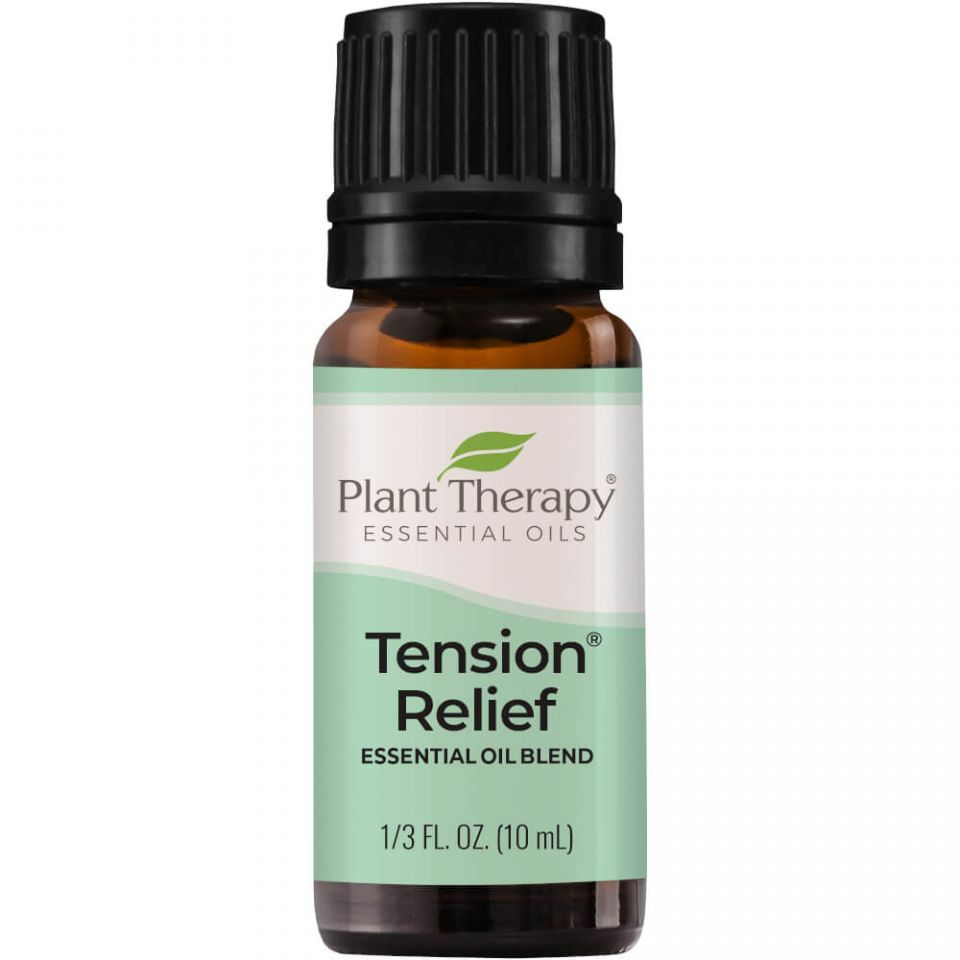 Plant Therapy Tension Relief Synergy Essential Oil - OilyPod