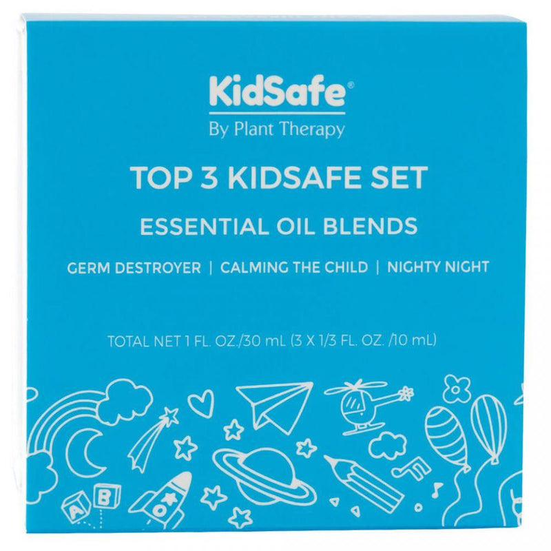 Plant Therapy Top 3 KidSafe Set - OilyPod