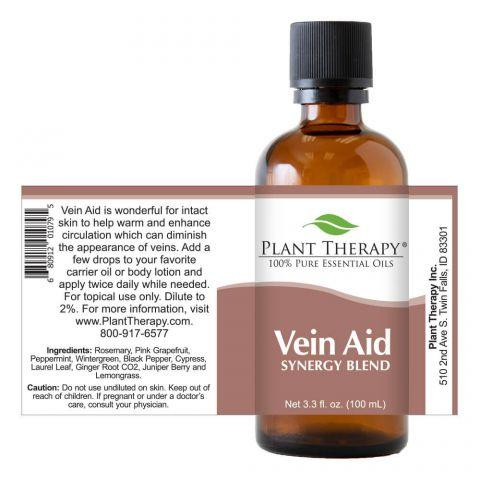 Plant Therapy Vein Aid Synergy Essential Oil - OilyPod