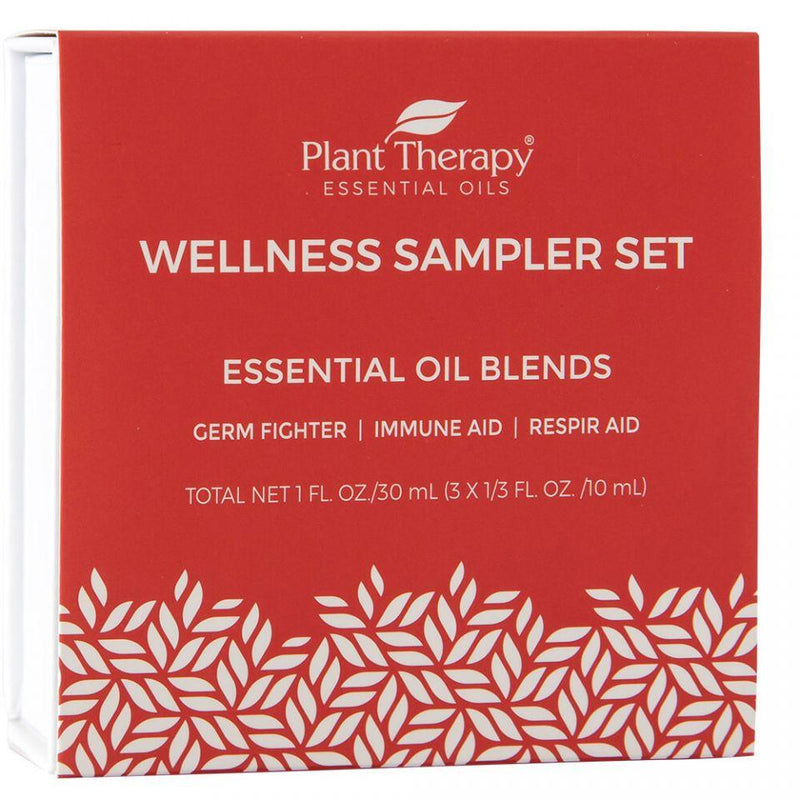 Plant Therapy Wellness Sampler Set - OilyPod