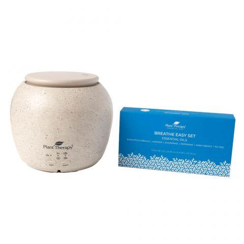 [PRE-ORDER] Plant Therapy TerraFuse™ Deluxe Diffuser and Breathe Easy Set - OilyPod