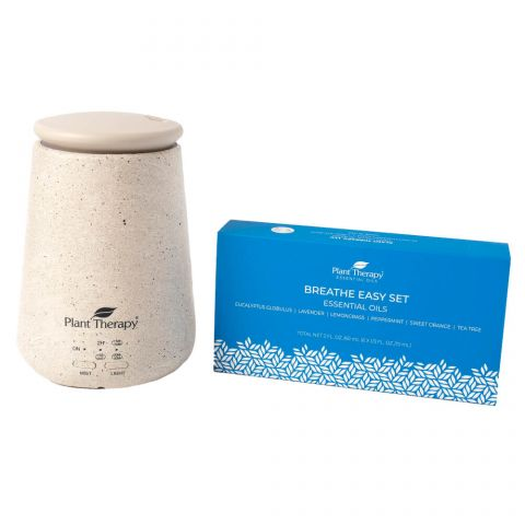 [PRE-ORDER] Plant Therapy TerraFuse™ Diffuser and Breathe Easy Set - OilyPod