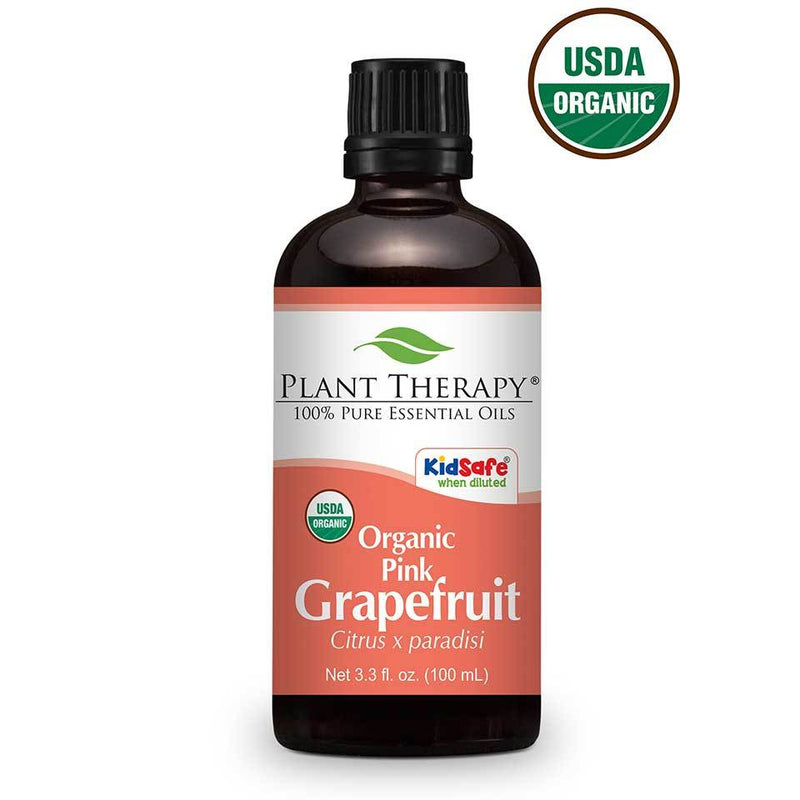 Grapefruit Pink Organic Essential Oil