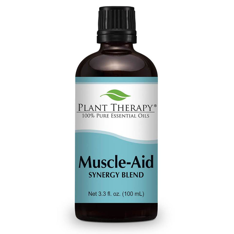Plant Therapy Muscle Aid Synergy Blend Essential Oil - OilyPod