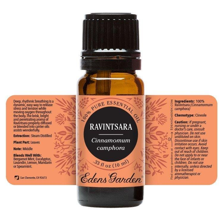 Ravintsara Essential Oil 10ml - OilyPod