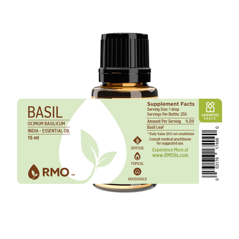 Basil Essential Oil 15ml