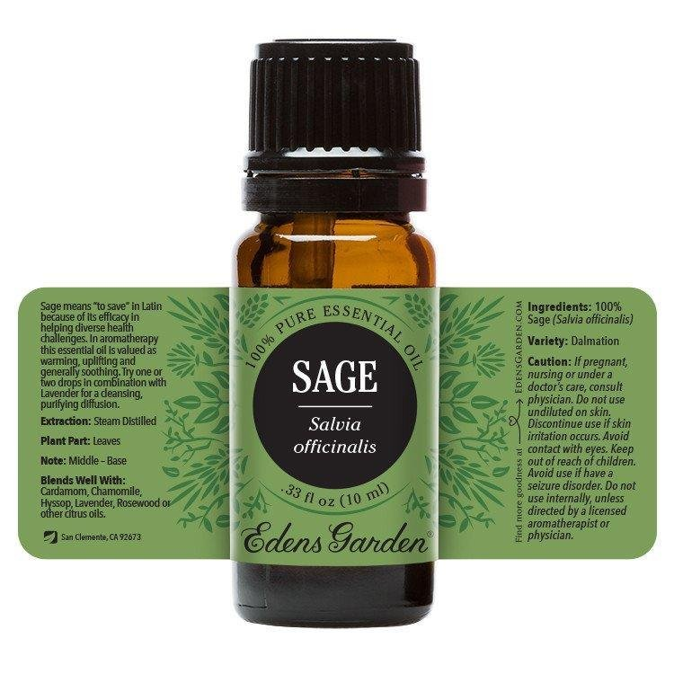 Sage Essential Oil 10ml - OilyPod