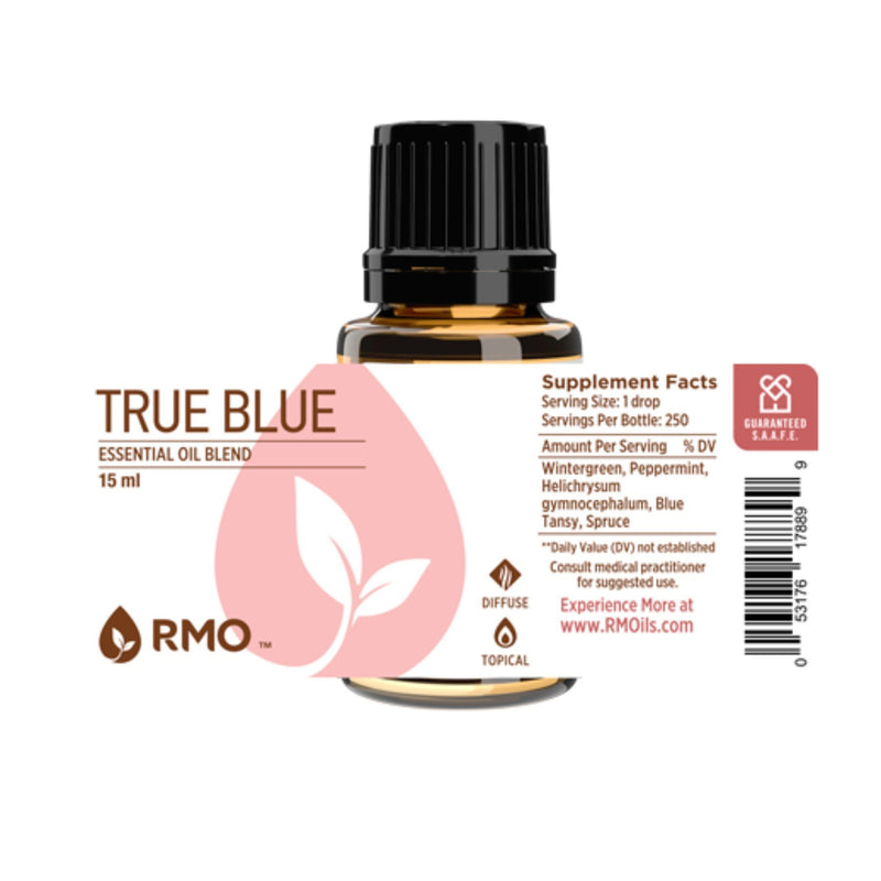True Blue Essential Oil 15ml - OilyPod