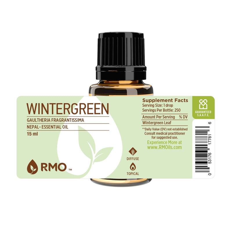 Wintergreen Essential Oil 15ml | Plant Therapy Malaysia, Plant Therapy essential oil, Plant Plant Therapy oil online