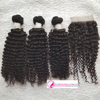 Double R5 Kinky Curl Human Hair