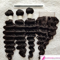 Double R5 Deep Wave Human Hair